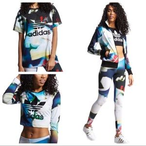 ADIDAS SHOE CHAOS 4 PIECE OUTFIT SET